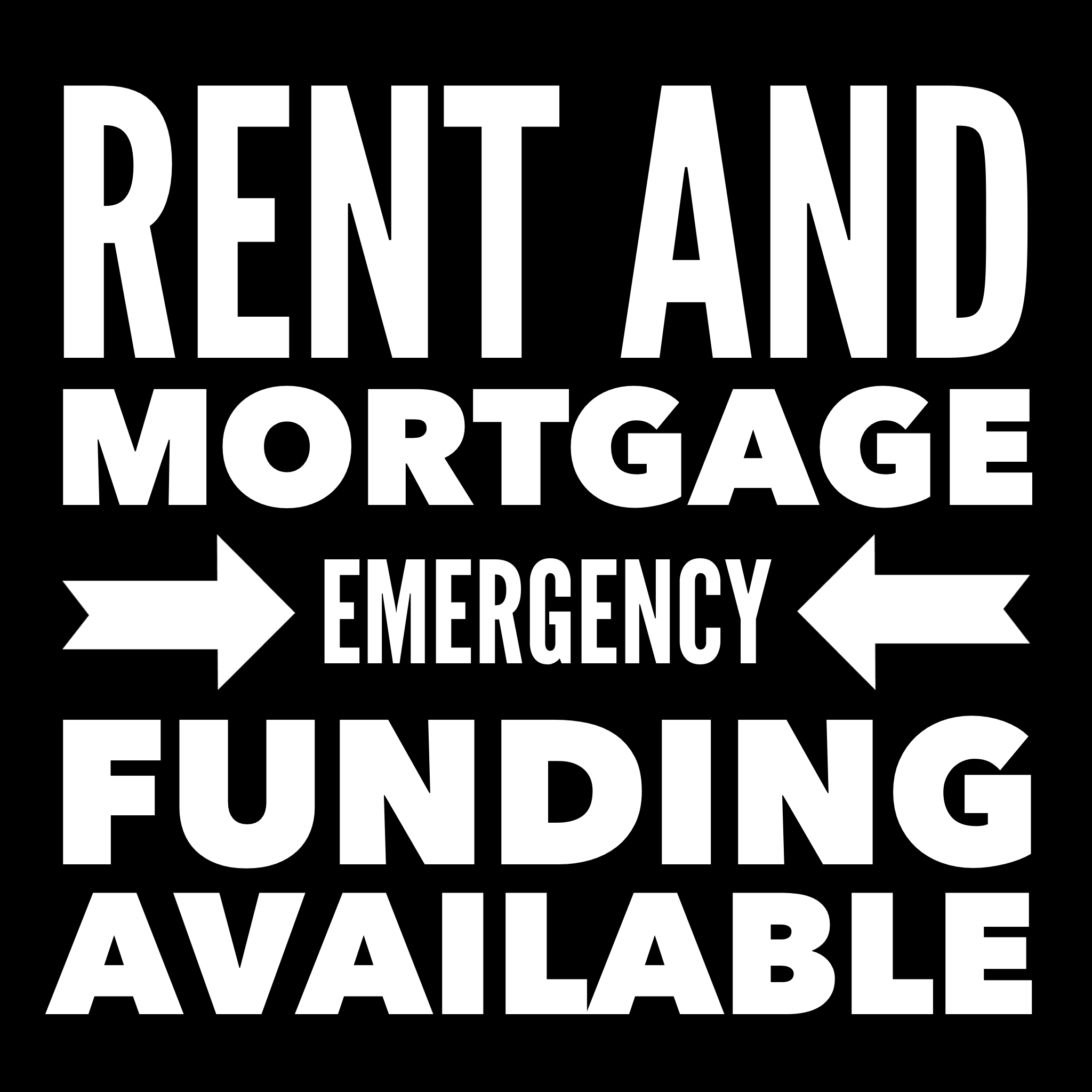 Rent and Mortgage Emergency Funding Available