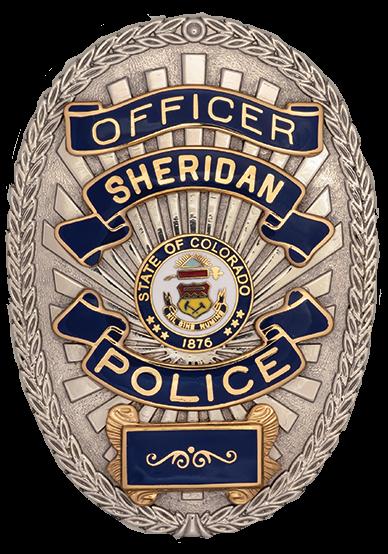 SPD Officer Badge Transparent background